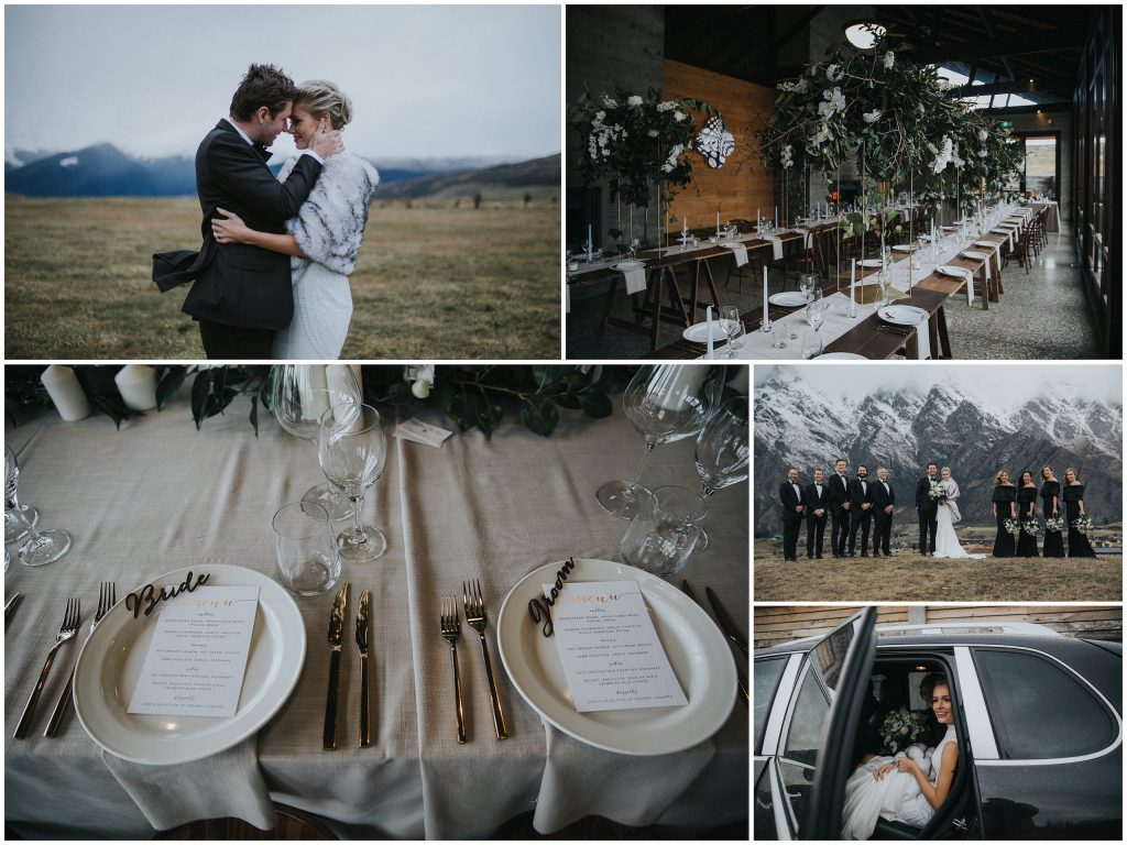 Holly + Leigh's Queenstown wedding, with day-of coordination by Simply Perfect Weddings. Imagery by Holly Wallace Photography & Film.