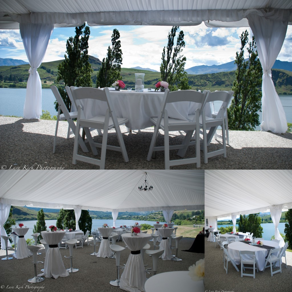 Wedding hire table linen simply perfect weddings queenstown white junglespirit Images