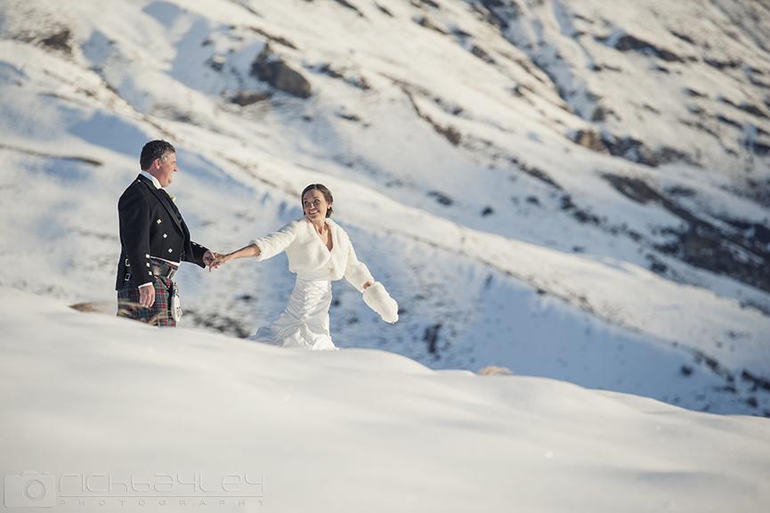 Mark and Michelle's Queenstown Winter wedding!