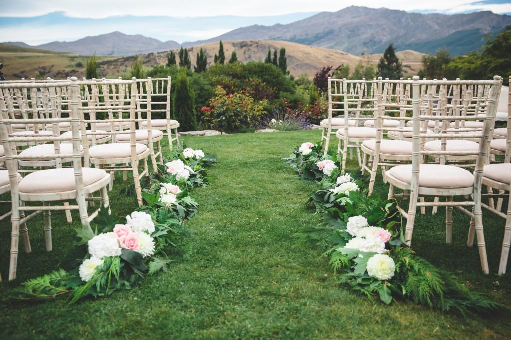 Jia ei 39 s queenstown wedding simply perfect weddings for Garden design queenstown