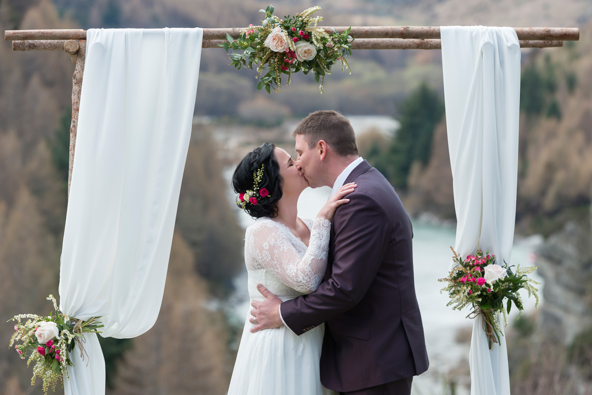 Saraya + Matt's Canyons Lodge Wedding