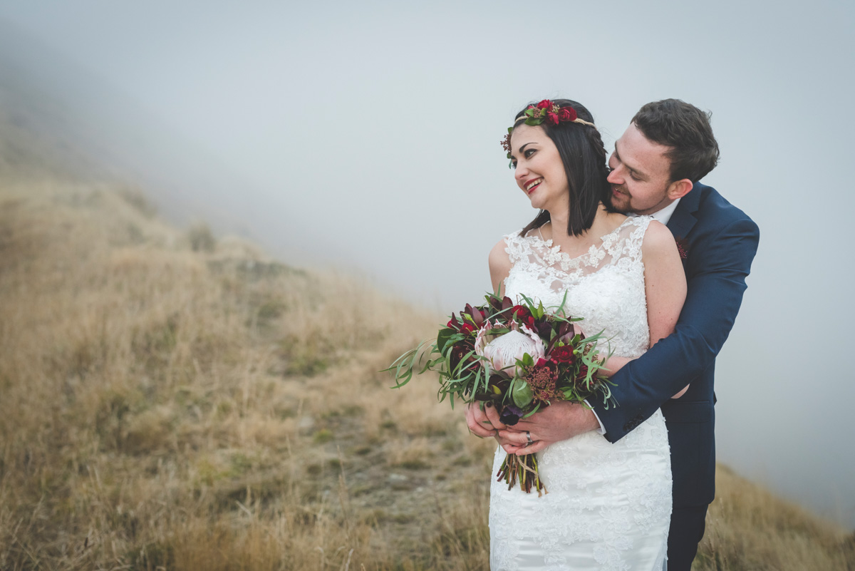 Lezita & Ray's Winter Heli Wedding