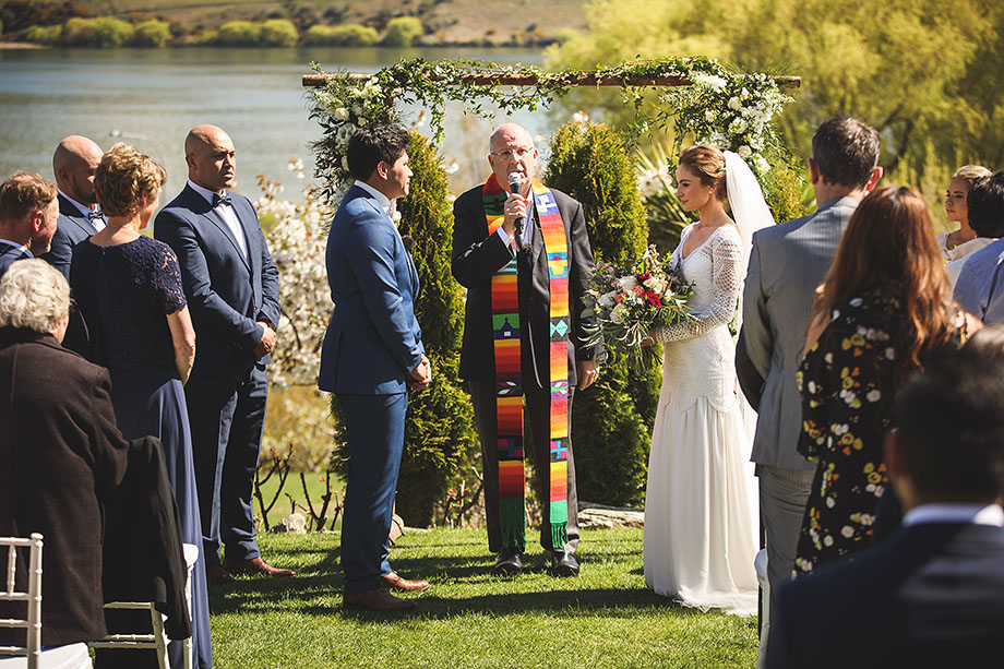 Chapel by the Lake garden ceremony