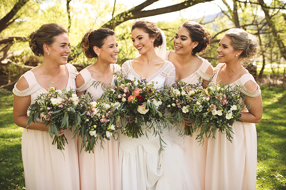 Bridal Party in Queenstown