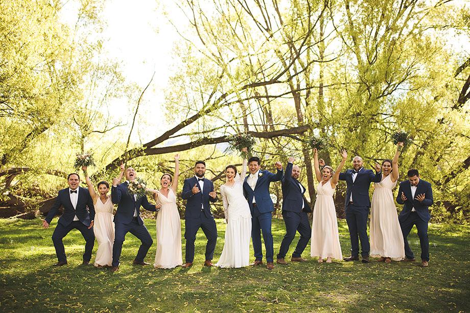 Queenstown Lake Hayes wedding photos