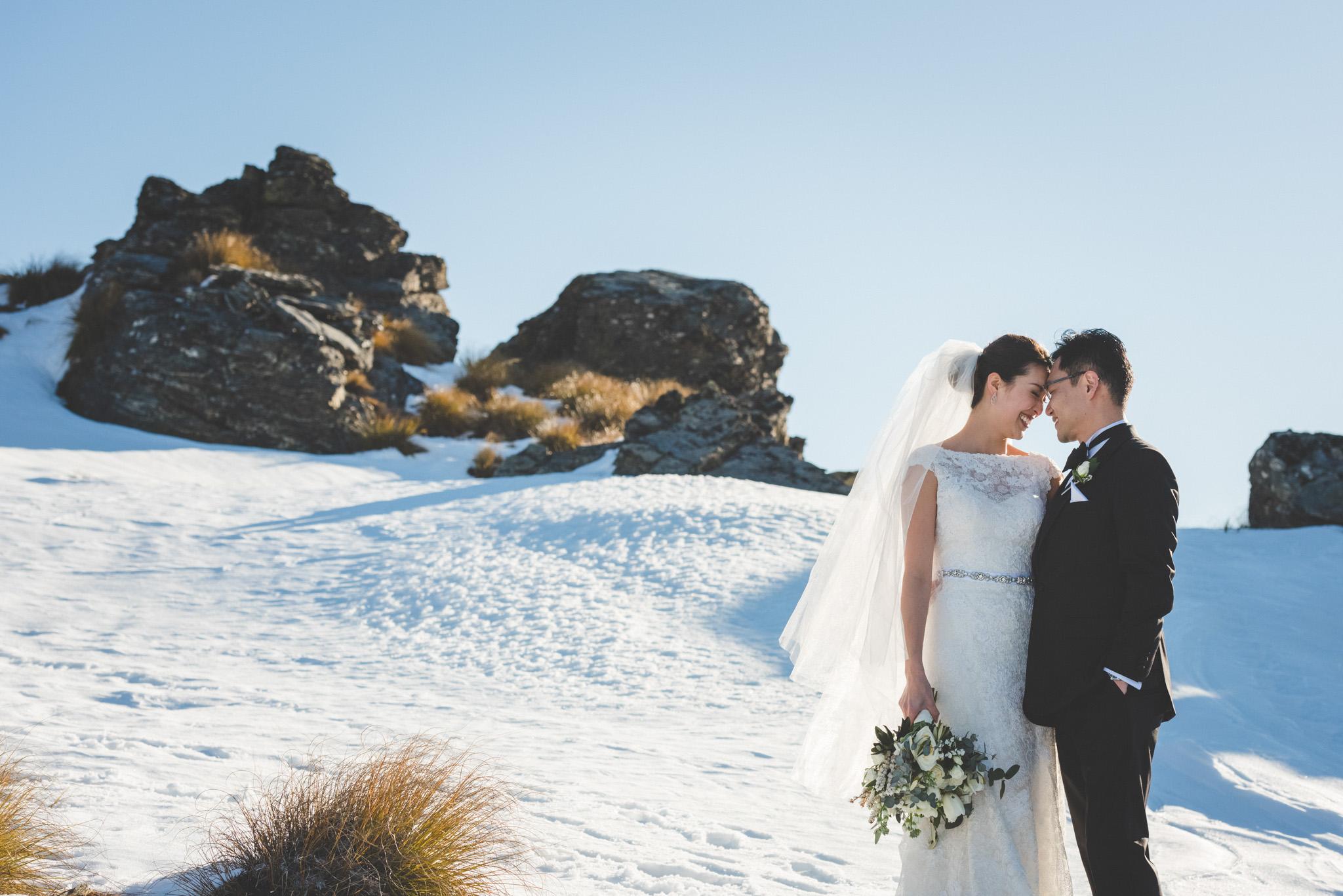 winter heli wedding package