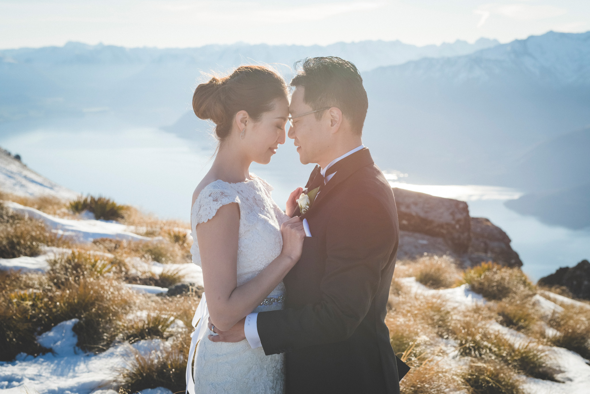 remarkables Queenstown wedding photography