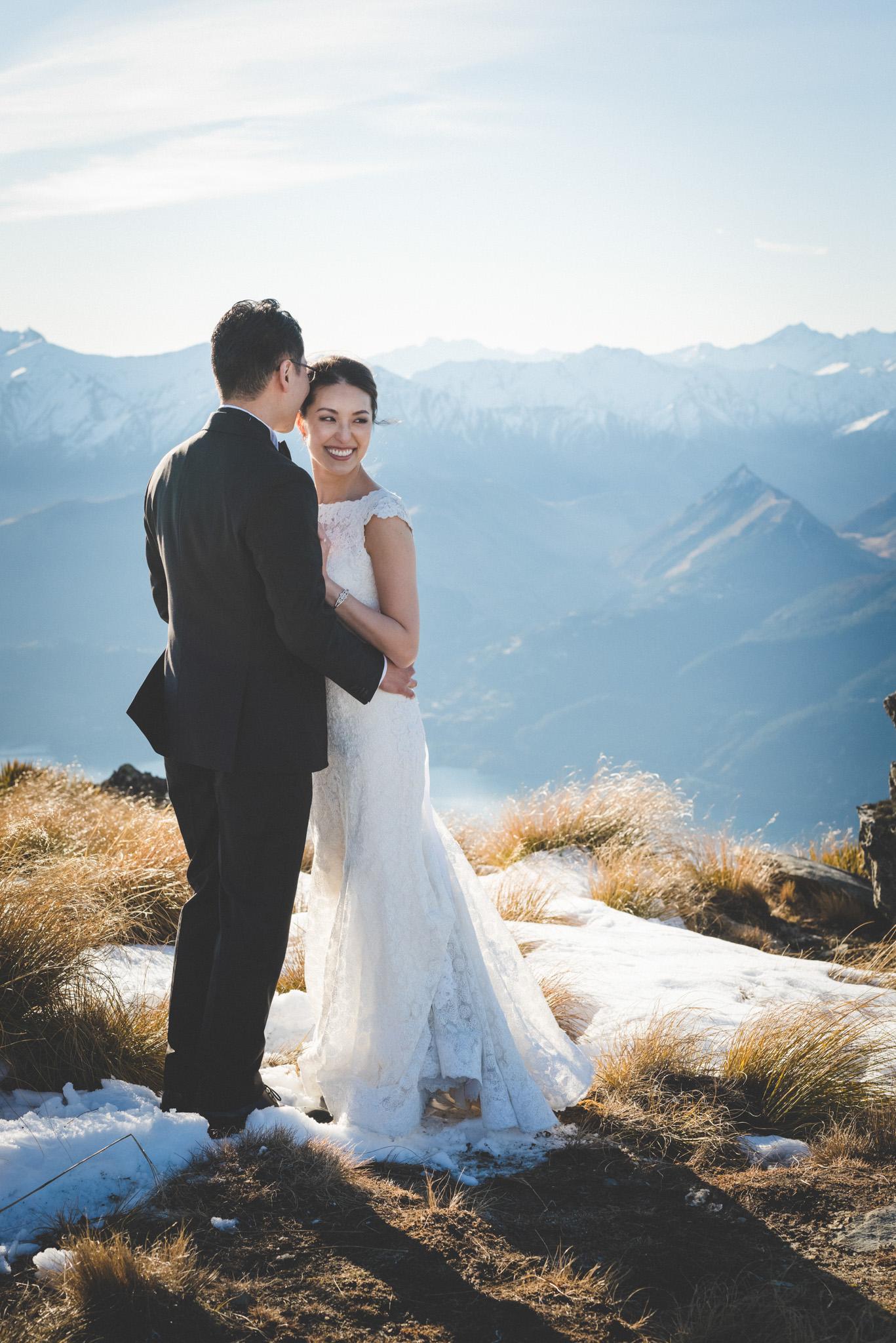 heli wedding photography
