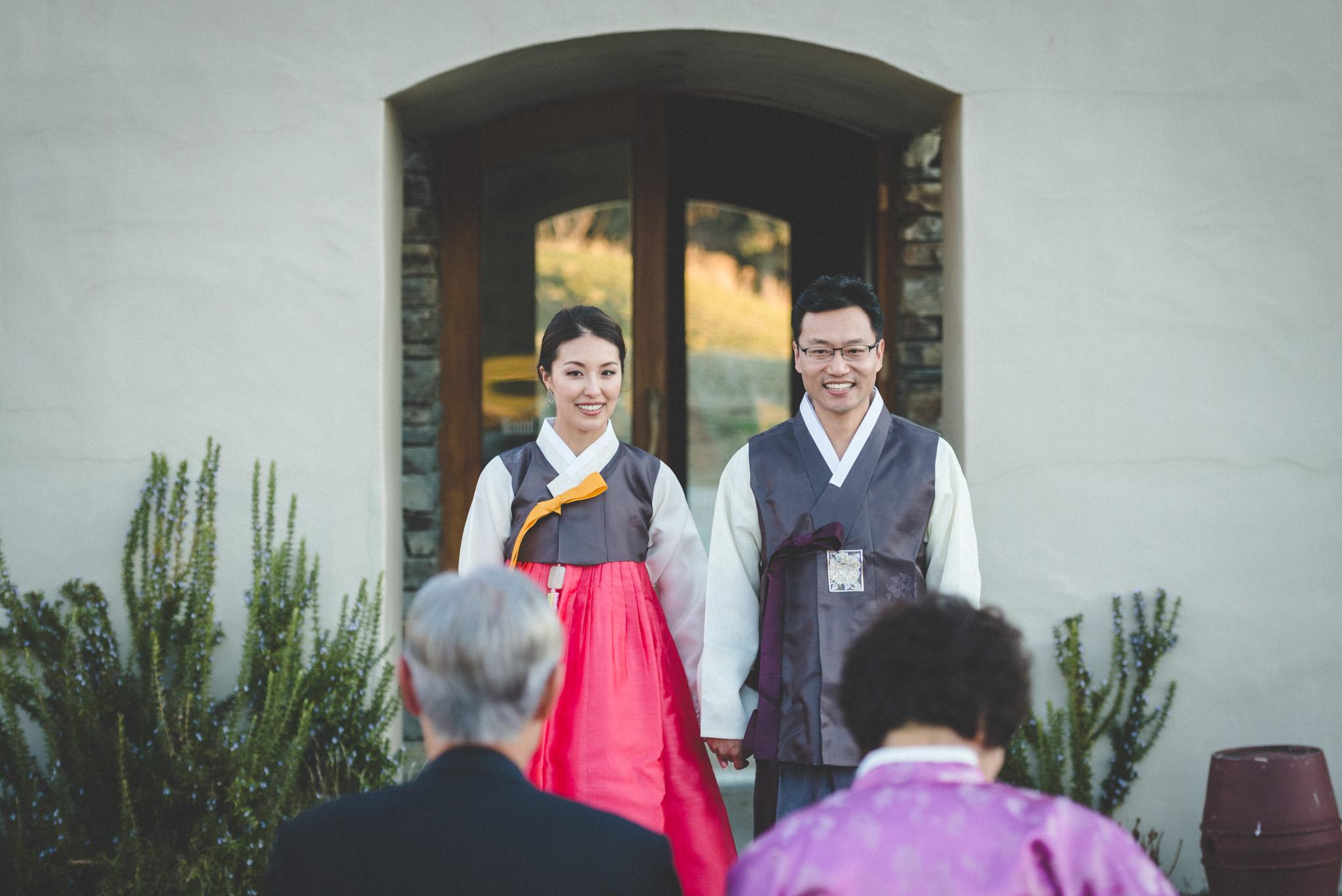Chinese tea ceremony at wedding