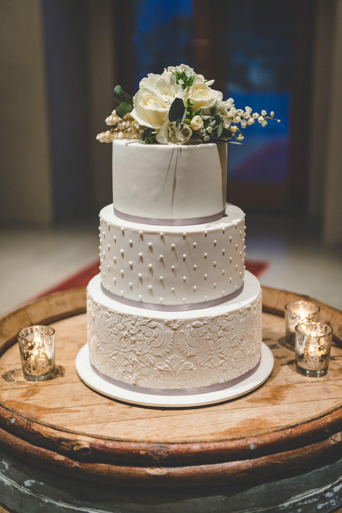 mt soho wedding cake