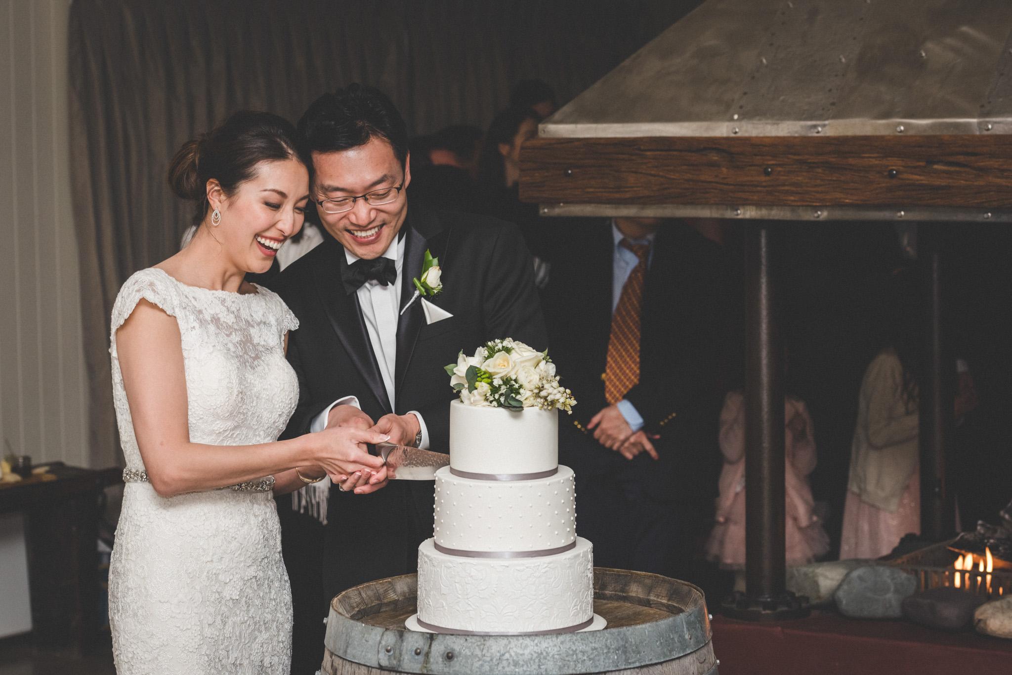 wedding cake at Mount Soho