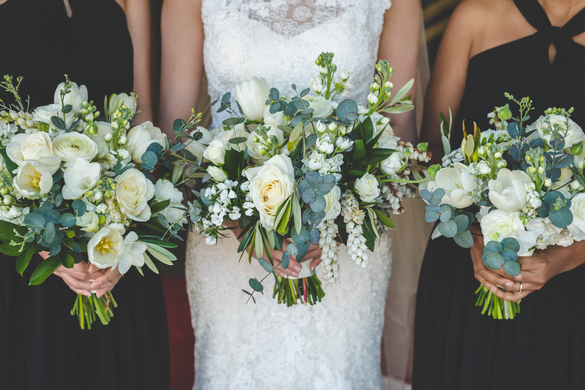 queenstown bridal party flowers