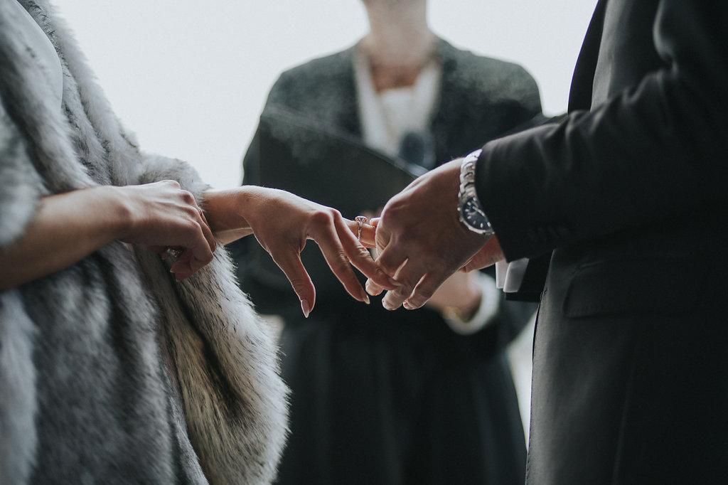 Wedding rings in Queenstown