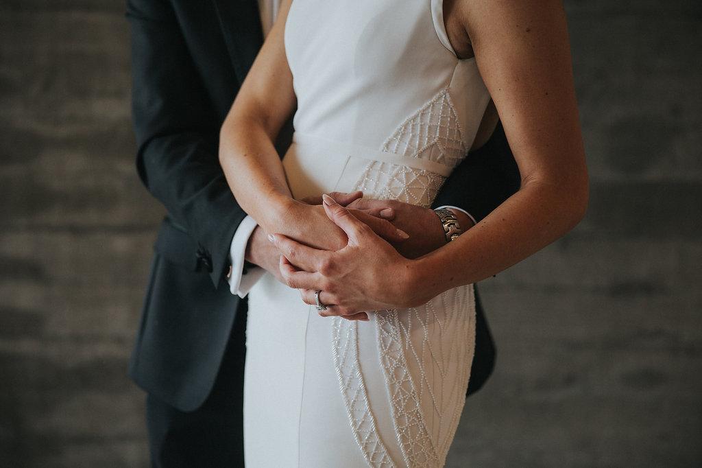 wedding couple in Queenstown