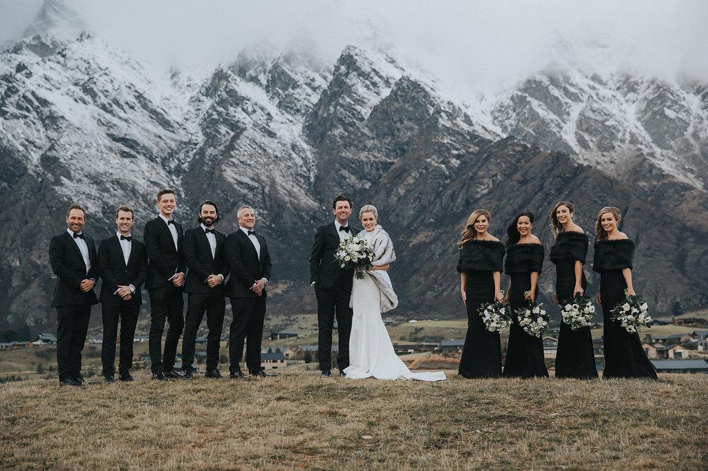 Jacks Point winter wedding