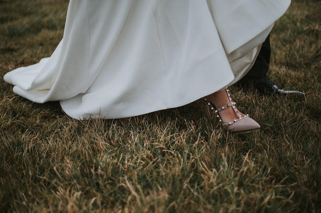 Jacks Point wedding shoes