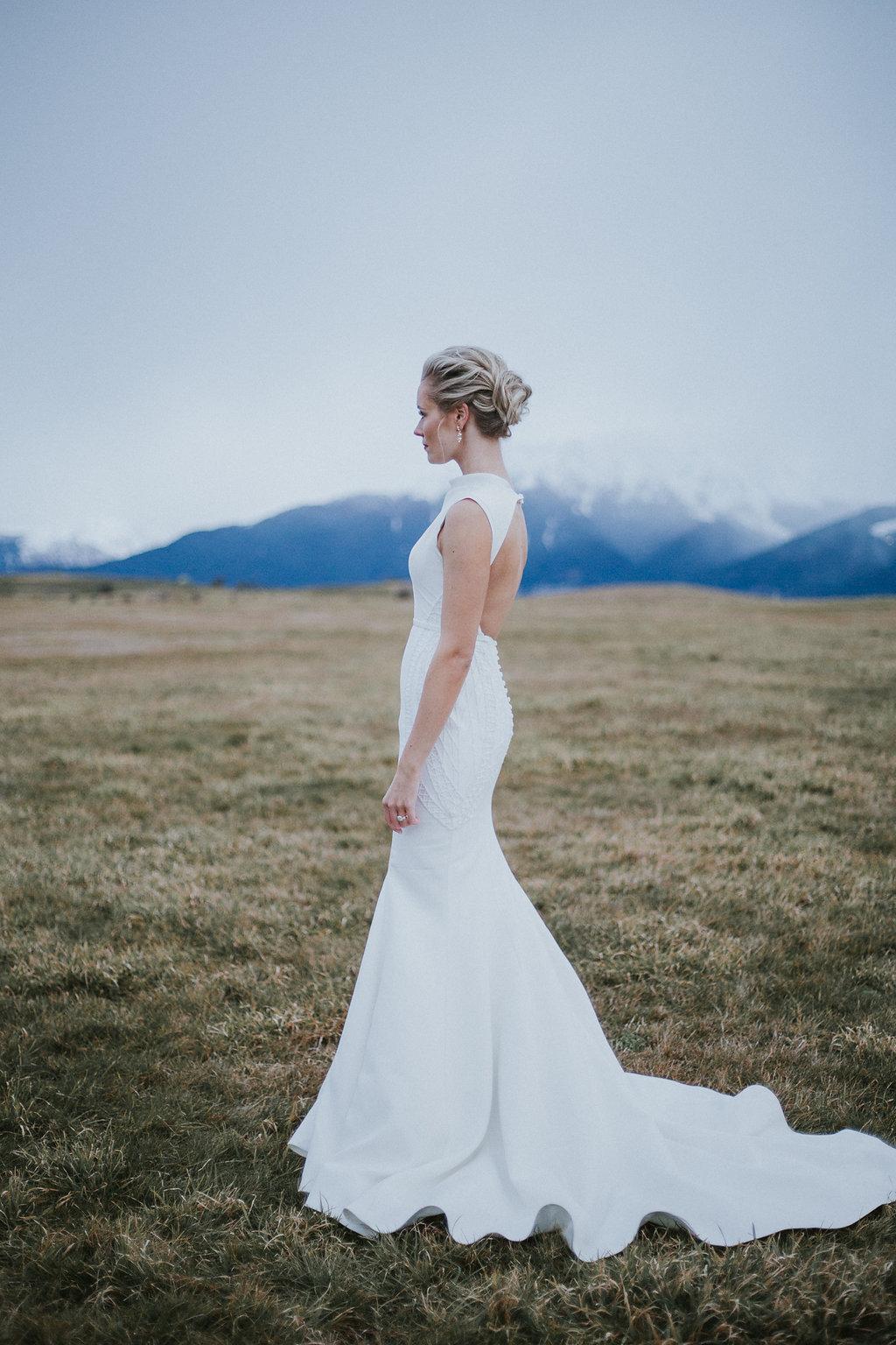Jacks Point wedding dress