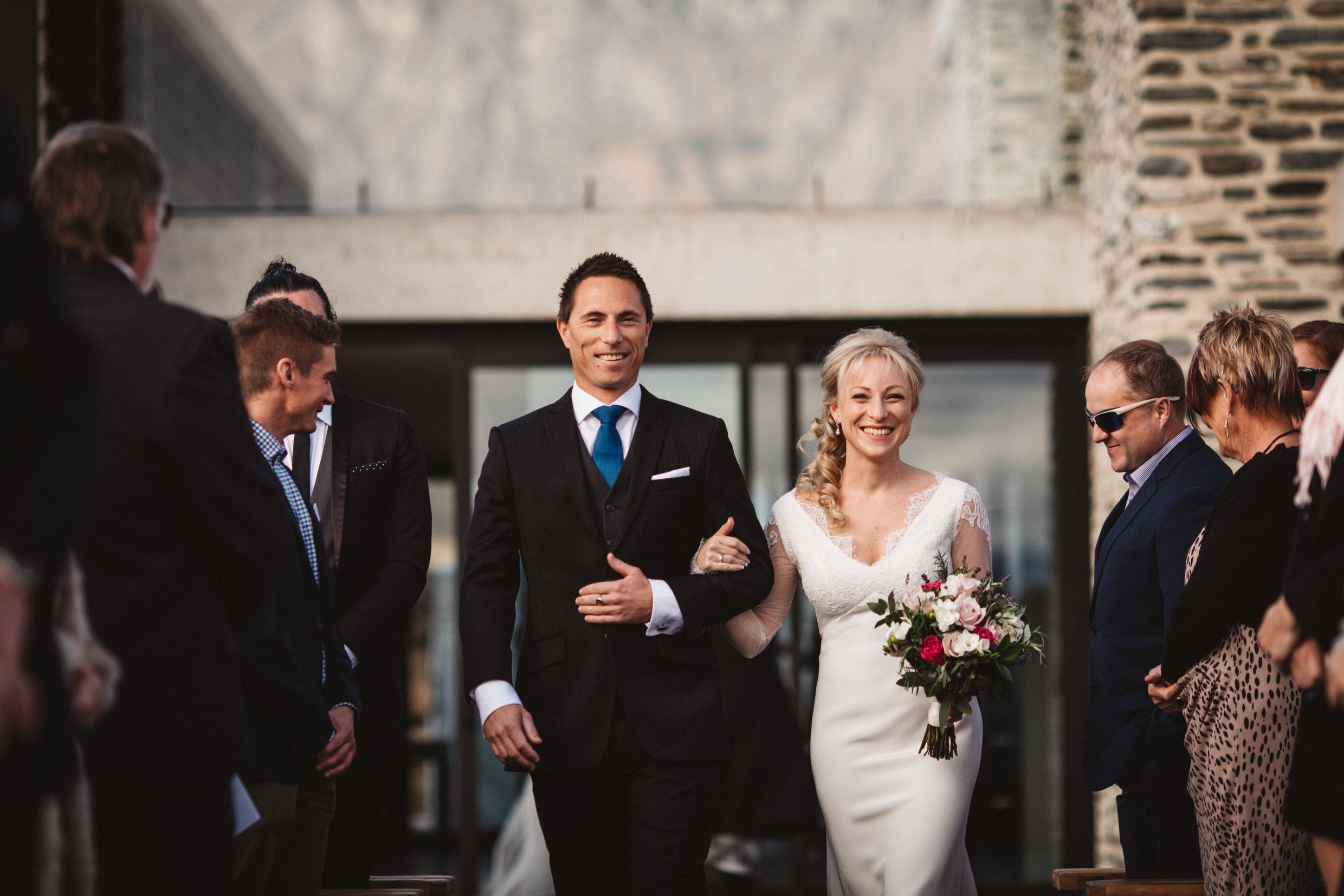 walking down the aisle in queenstown nz