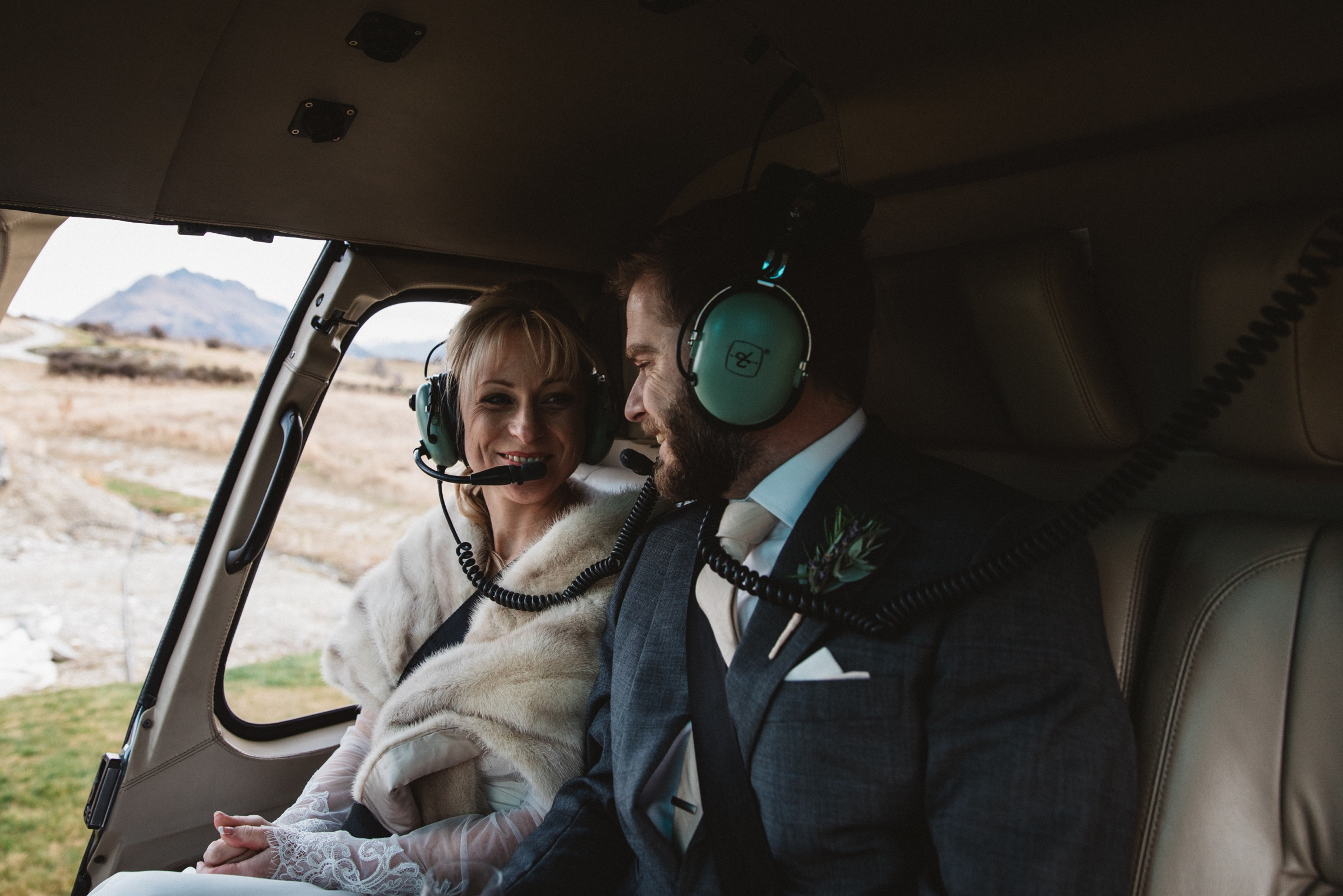 Heli wedding in Queenstown NZ