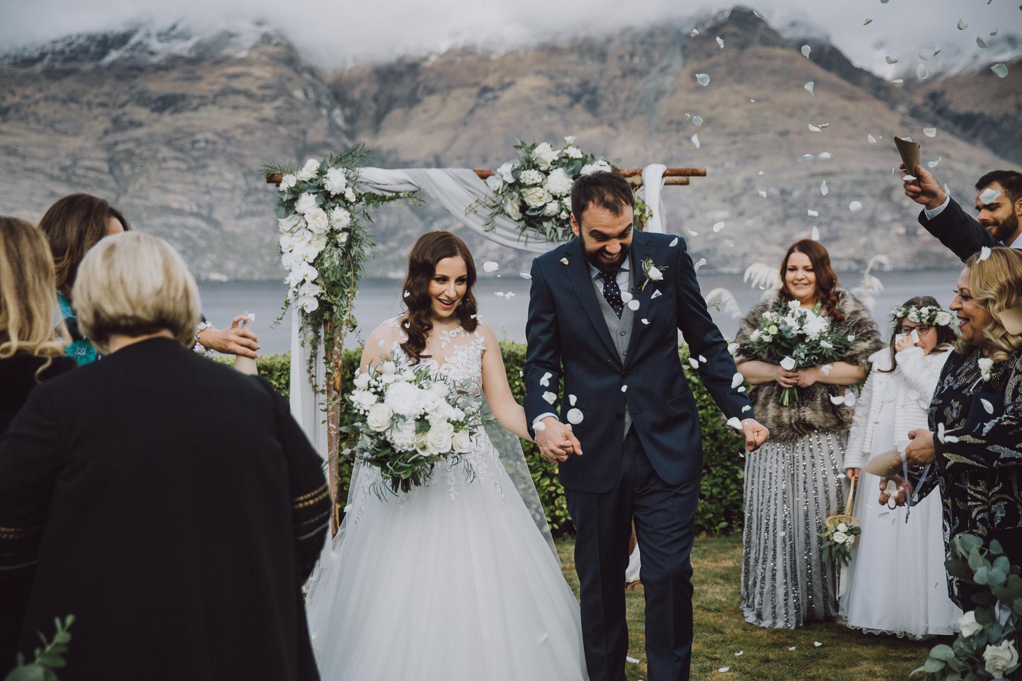 Queenstown Wedding Hire at Matakauri Lodge