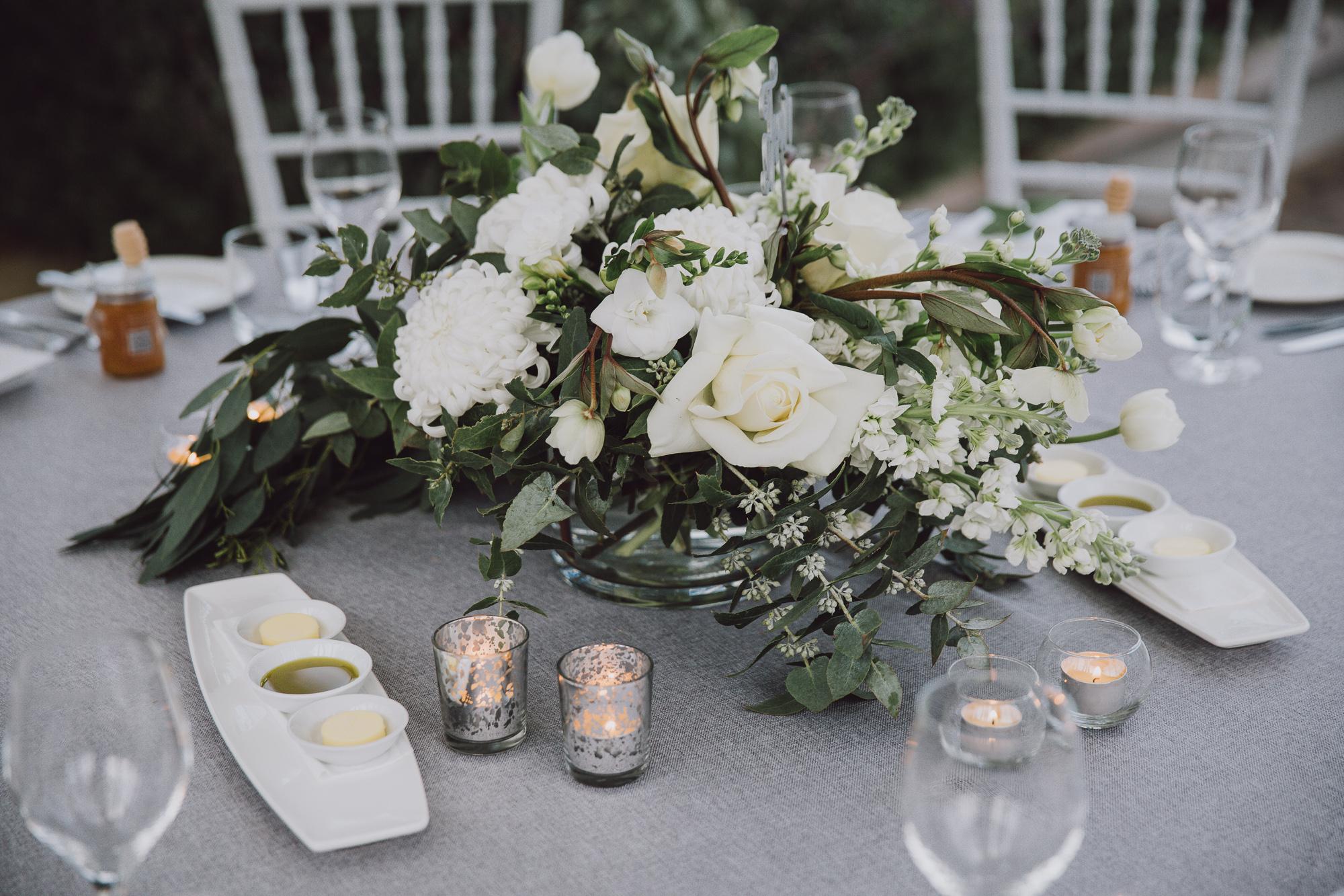 Wedding centerpiece in Queenstown NZ