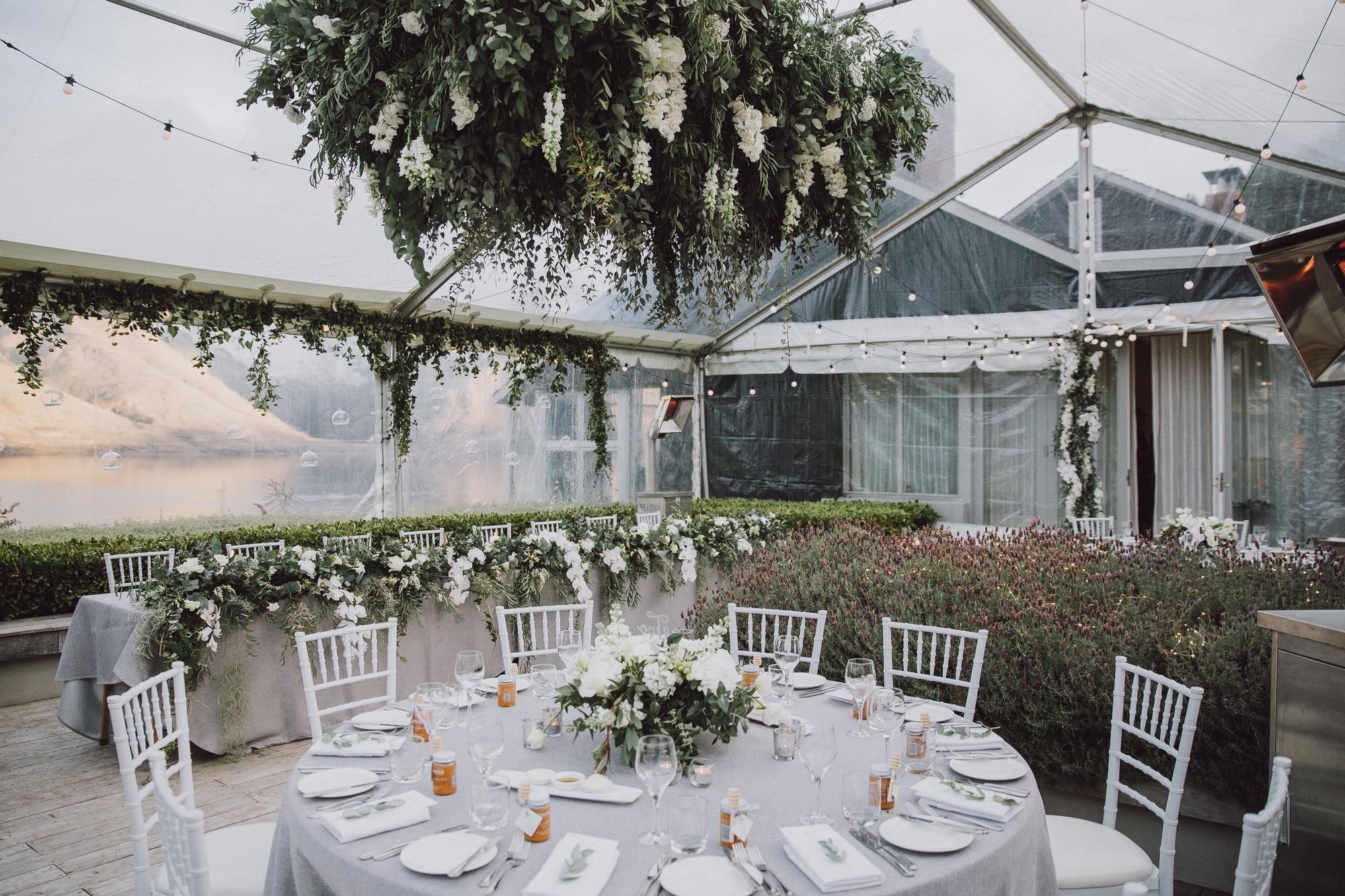Matakauri Lodge Marquee Wedding Stylist in Queenstown NZ