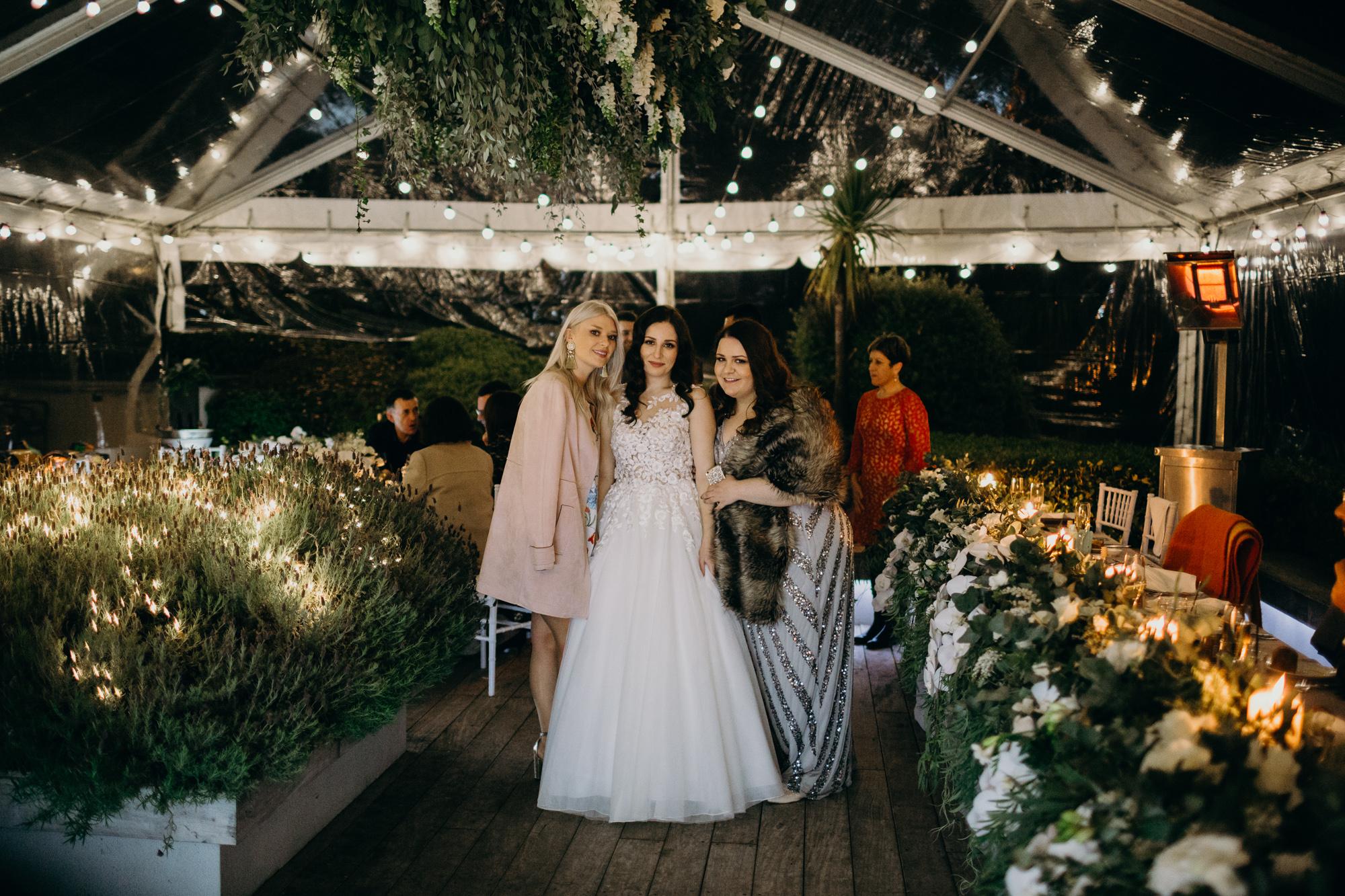 Winter marquee wedding in Queenstown NZ