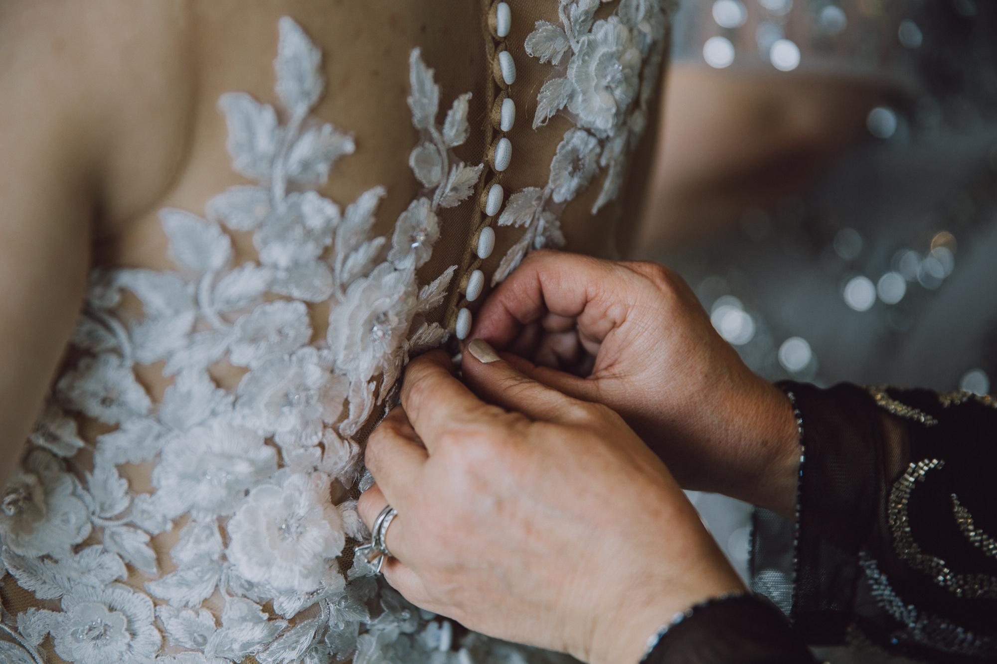 Wedding dress queenstown NZ