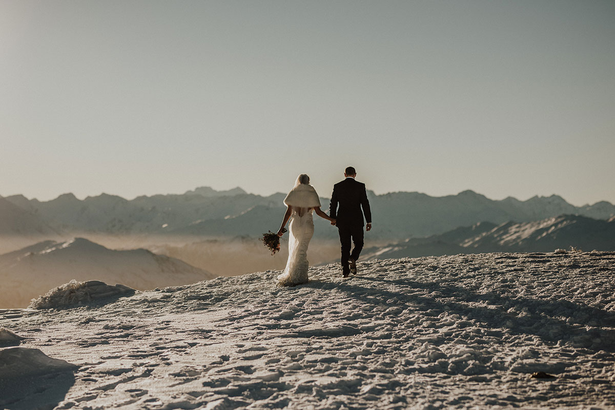Queenstown Elopement Heli Wedding Package and Planning