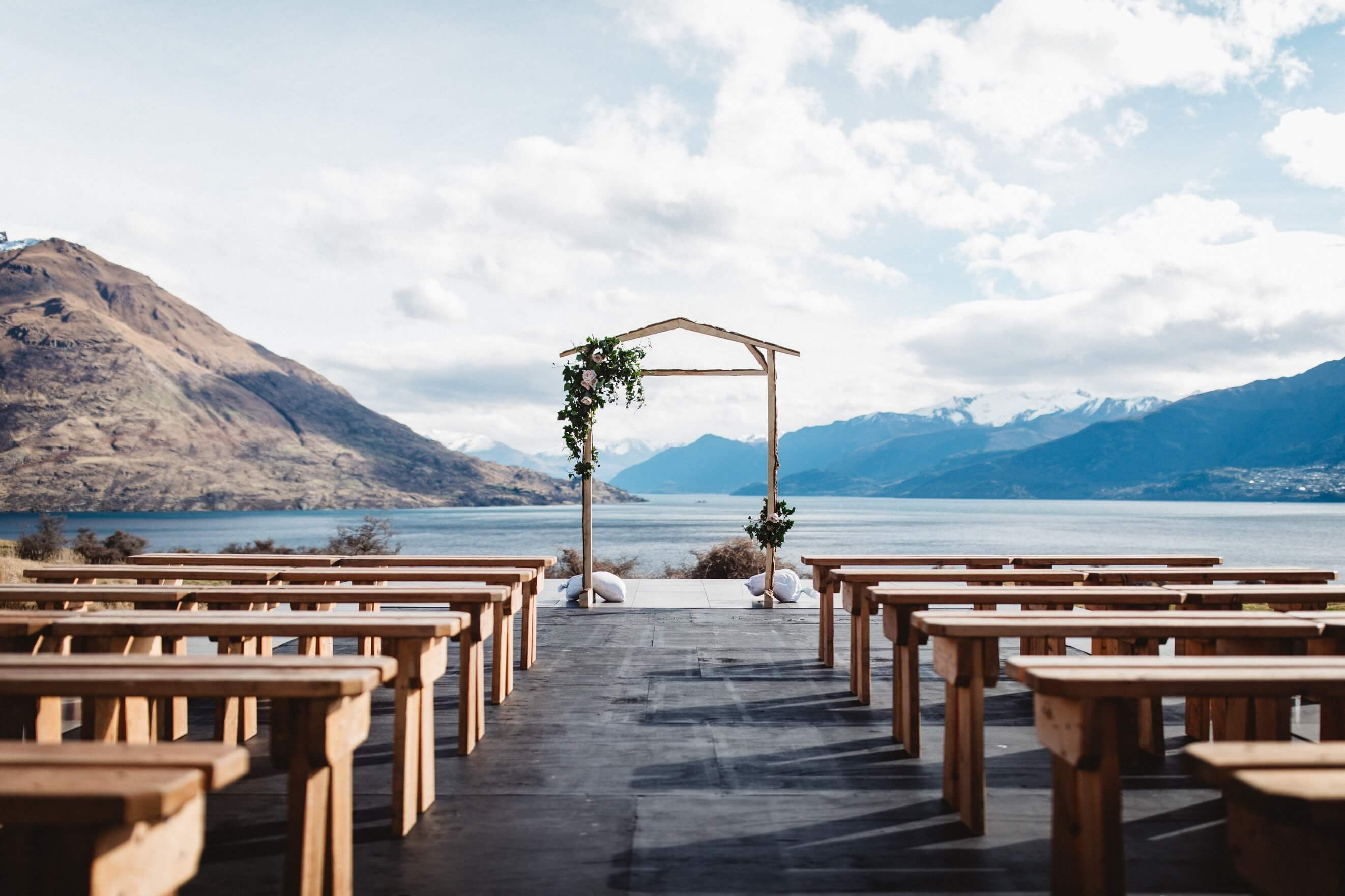 Jacks Point Wedding Package in Queenstown NZ