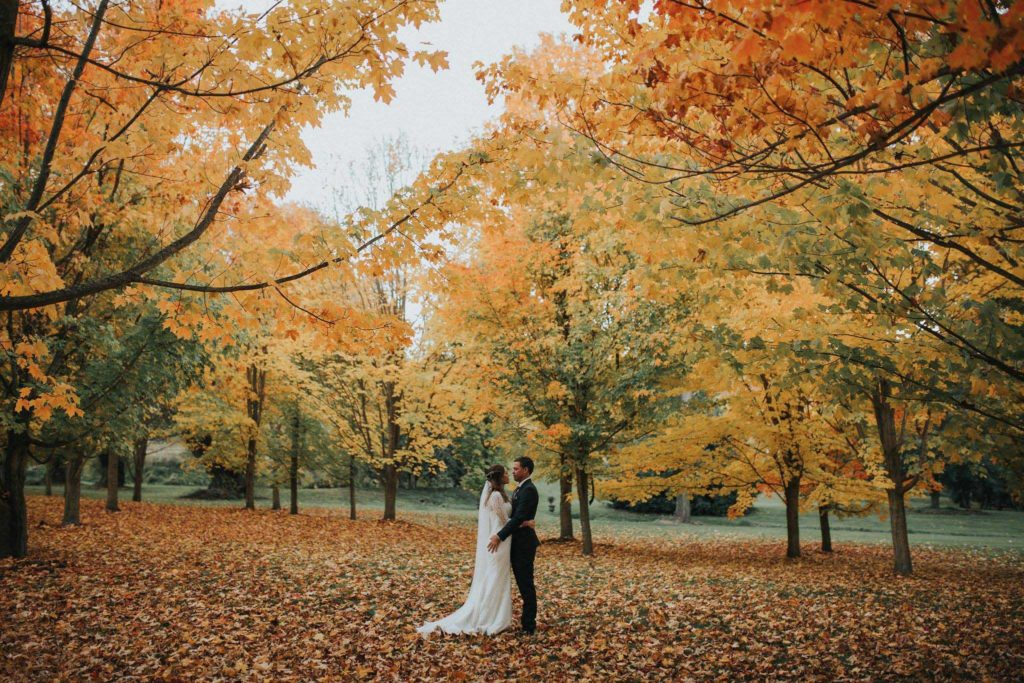 Autumn wedding Queenstown