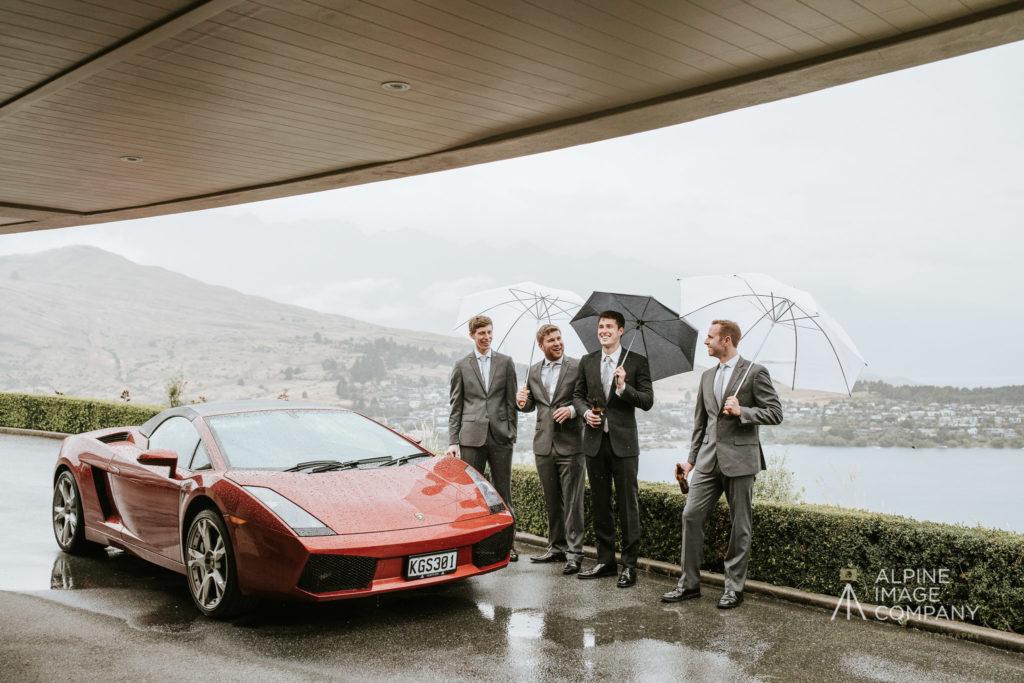 Queenstown Rainy Wedding Day