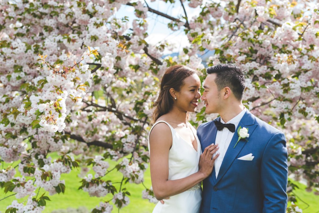 Spring wedding in Queenstown