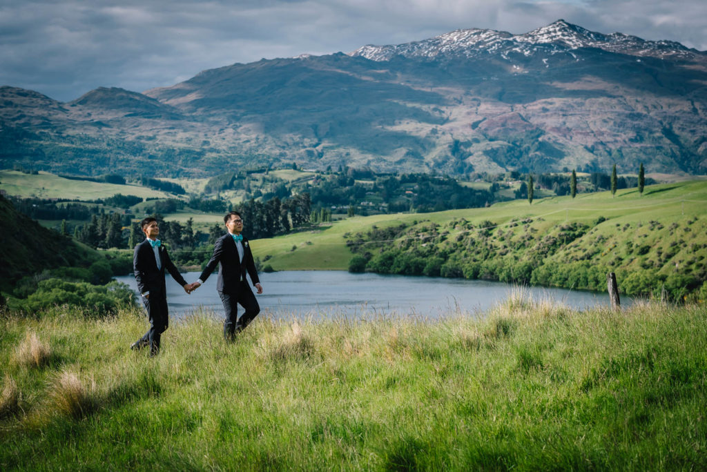 Intimate Queenstown Wedding