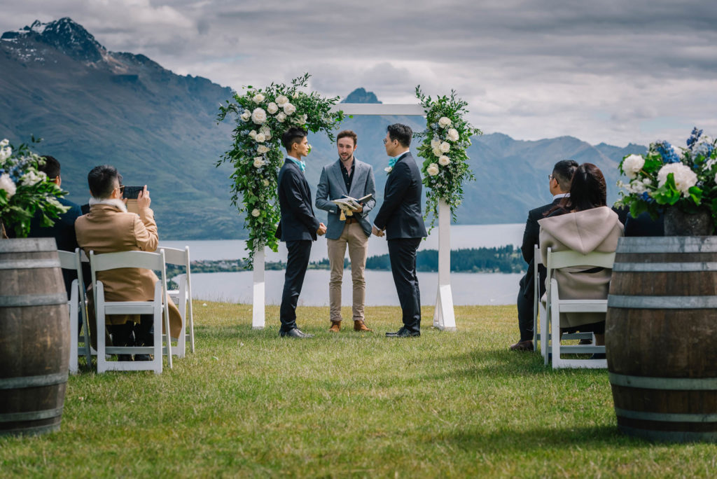Perfect Queenstown Wedding