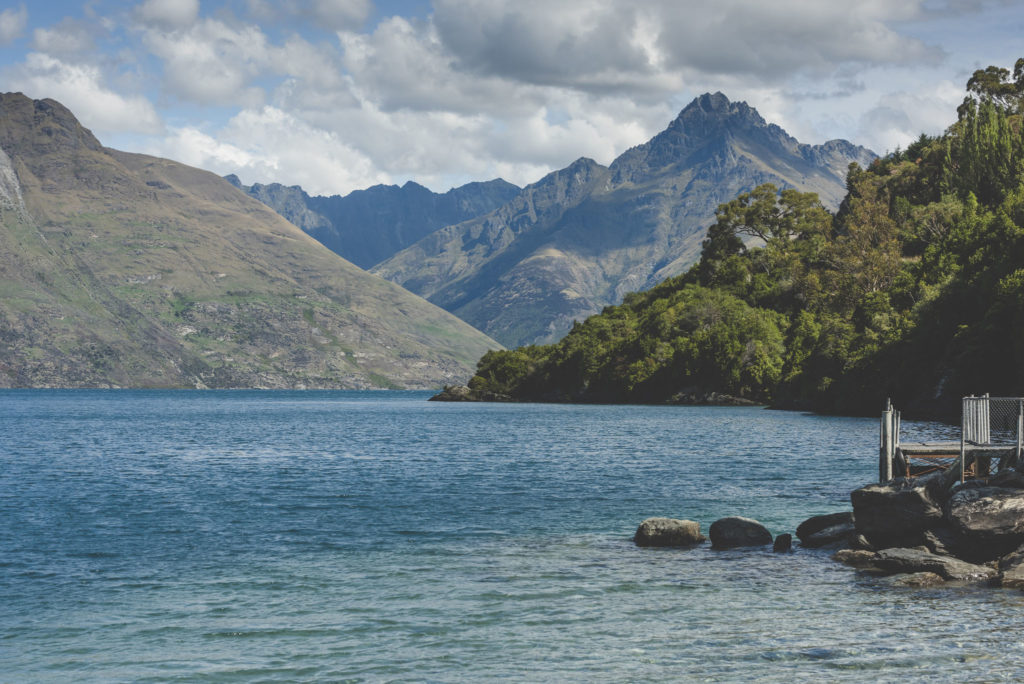 Sunshine Bay Hike and Beautiful Scenery in Queenstown New Zealand