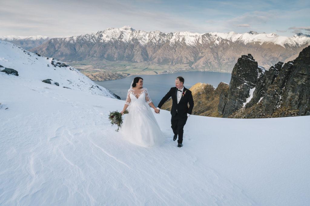 Mountain Wedding Photos Queenstown