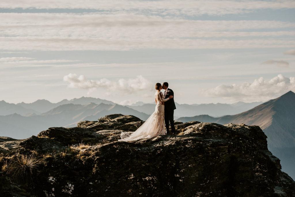 Heli Elopement Wedding Queenstown
