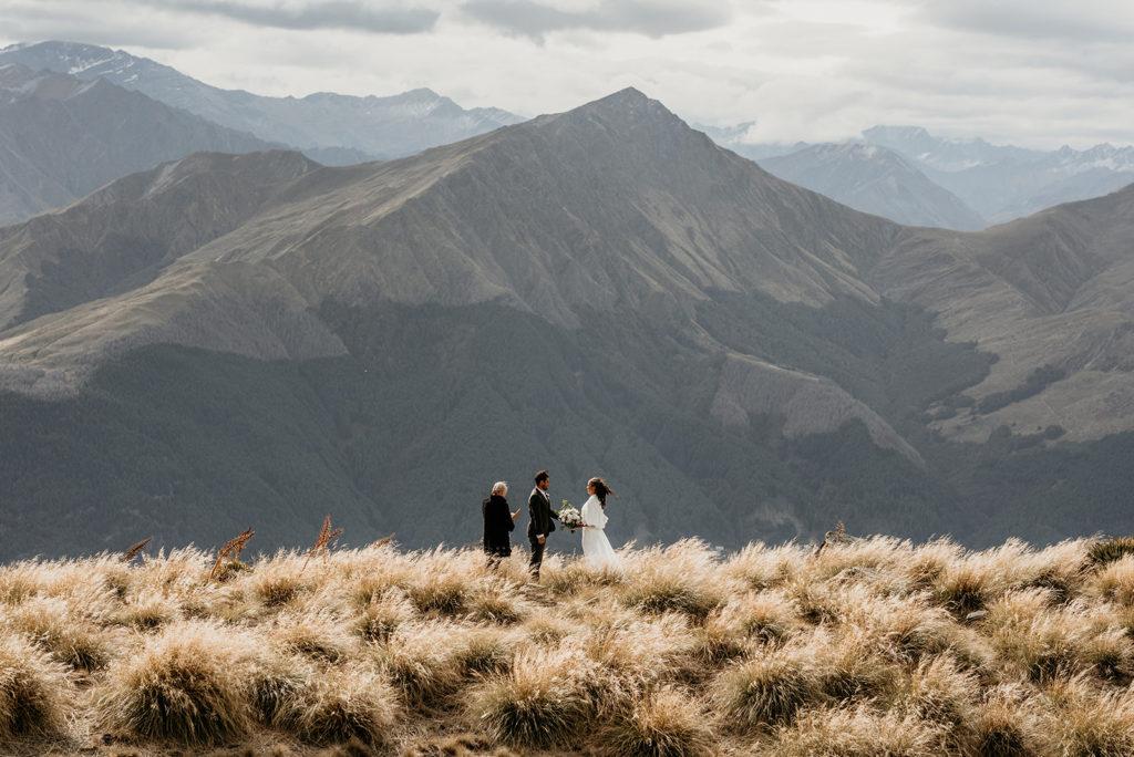 Luxury Heli Elopement Queenstown New Zealand
