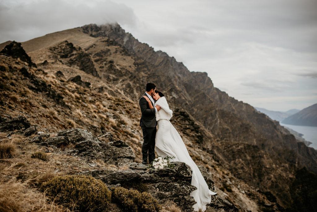 Luxury Heli Elopement Wedding Package Queenstown NZ