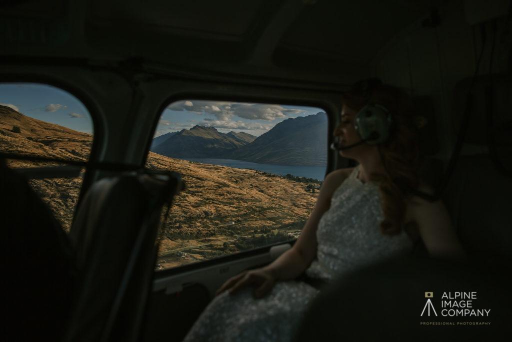 Luxury Heli Elopement Queenstown NZ